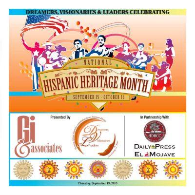 DVL 2013 Hispanic Heritage Month Publication Cover